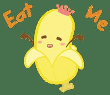 siam banana sticker #10320143