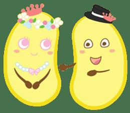 siam banana sticker #10320149