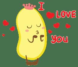 siam banana sticker #10320168