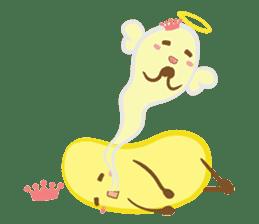 siam banana sticker #10320170
