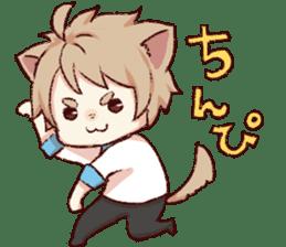dog&cat(dogboy side) sticker #10323406