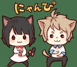 dog&cat(dogboy side) sticker #10323407