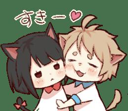dog&cat(dogboy side) sticker #10323411