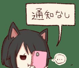 dog&cat(catgirl side) sticker #10323496