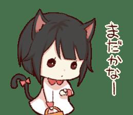 dog&cat(catgirl side) sticker #10323518