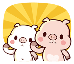 Cutie Piggy sticker #10330567