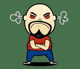 Meng Jax, Bald Man sticker #10347967