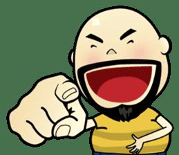 Meng Jax, Bald Man sticker #10347982