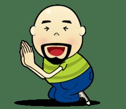 Meng Jax, Bald Man sticker #10347983