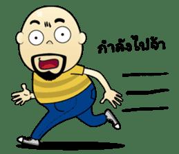 Meng Jax, Bald Man sticker #10347992