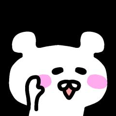The sticker of Okada dedicated