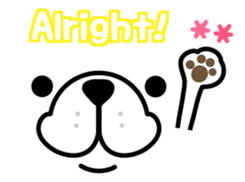 Kotchan fluffy ver. <ENGLISH> sticker #10352247