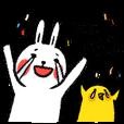 Lazy Rabbit & Mr.Chu 3 | StampDB - LINEスタンプランキング