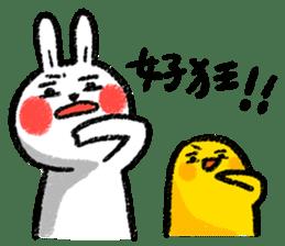 Lazy Rabbit & Mr.Chu 3 sticker #10357054