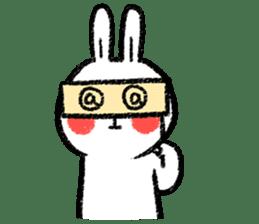 Lazy Rabbit & Mr.Chu 3 sticker #10357060