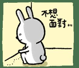 Lazy Rabbit & Mr.Chu 3 sticker #10357070