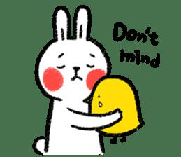 Lazy Rabbit & Mr.Chu 3 sticker #10357077