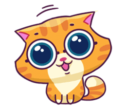 Ringer Ginger Kitty Cat sticker #10363092