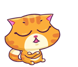 Ringer Ginger Kitty Cat sticker #10363111