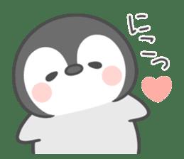 Lovely penguin.. sticker #10363123