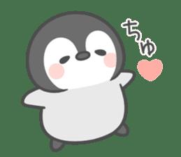 Lovely penguin.. sticker #10363124
