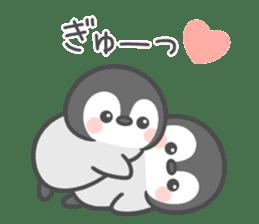 Lovely penguin.. sticker #10363125
