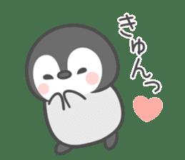 Lovely penguin.. sticker #10363127