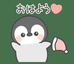 Lovely penguin.. sticker #10363128