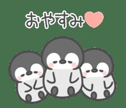 Lovely penguin.. sticker #10363129