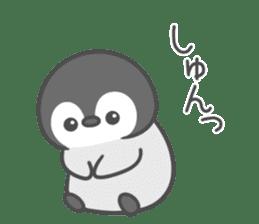Lovely penguin.. sticker #10363141