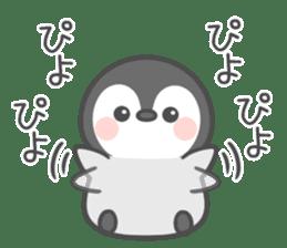 Lovely penguin.. sticker #10363143