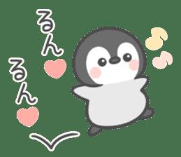 Lovely penguin.. sticker #10363145