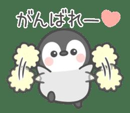 Lovely penguin.. sticker #10363146