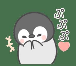 Lovely penguin.. sticker #10363147