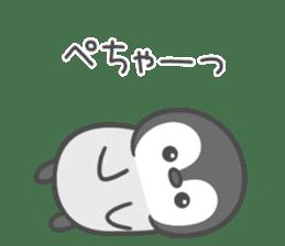Lovely penguin.. sticker #10363150