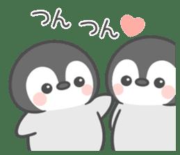 Lovely penguin.. sticker #10363153