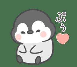 Lovely penguin.. sticker #10363154