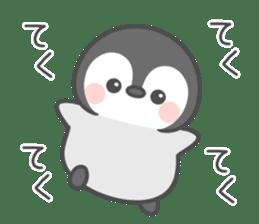 Lovely penguin.. sticker #10363157