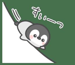 Lovely penguin.. sticker #10363158