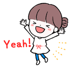 Daily Girls (English) sticker #10363570