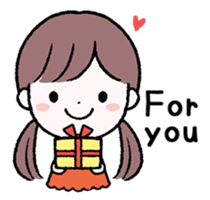 Daily Girls (English) sticker #10363575