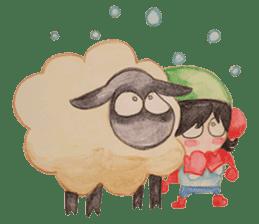 Little Lamb Beee 2 sticker #10366092