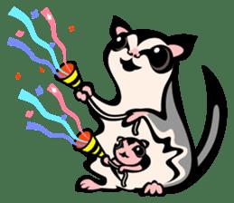 Animal parent and child in Australia sticker #10369014