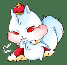 Squirrel King sticker #10382003