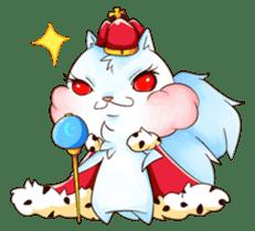Squirrel King sticker #10382009