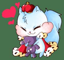 Squirrel King sticker #10382034