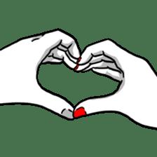 Manga couple in love 2 sticker #10382055