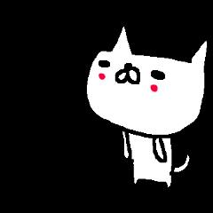 Cute Osaka Cat stickers!