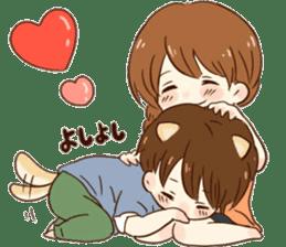 it's love. sticker #10390343