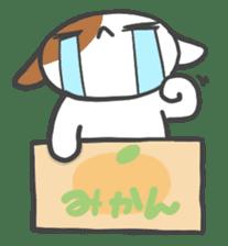 ORANGE BOX CAT sticker #10419087